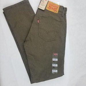 NEW Levi 511 Slim Fit Stretch Jeans 28x30